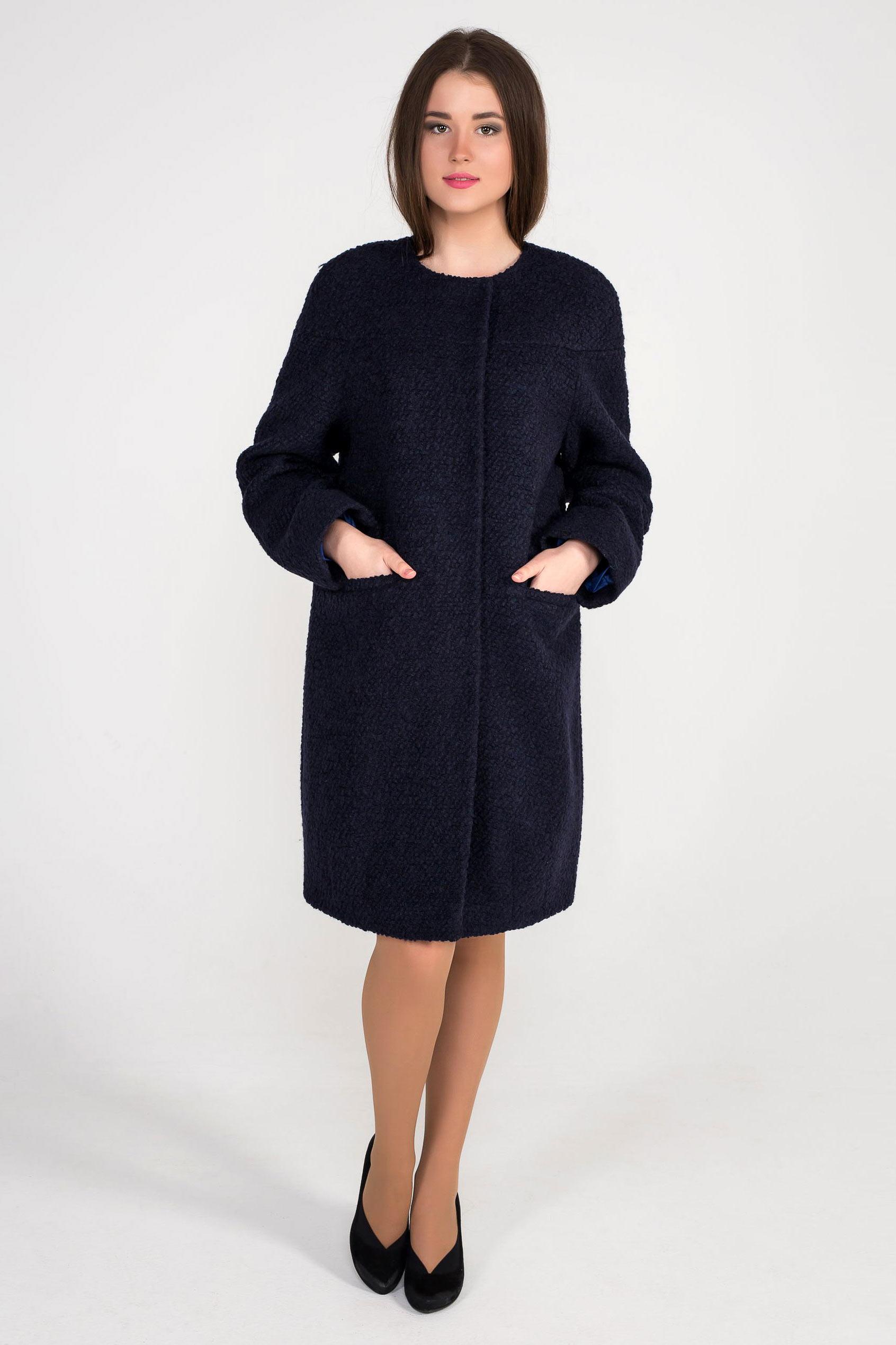b6e9da1aaba Купить женское демисезонное пальто - артикул 148 navy 2